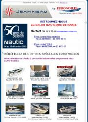 Salon Nautique Nautic de Paris Jeanneau